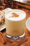 Egg nog with cinnamon and nutmet Royalty Free Stock Image