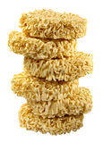 Egg noodle. S on white background Royalty Free Stock Photography