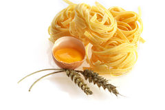 Egg noodle Royalty Free Stock Images