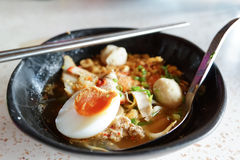 Egg noodle Stock Photography