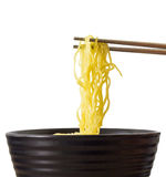 Egg Noodle Stock Photo