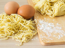 Egg Noodle Royalty Free Stock Photo