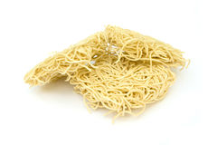 Egg noodles Stock Images