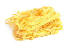 Egg noodles Stock Photography