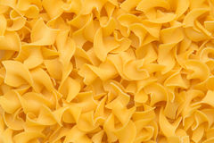 Egg Noodles. Extra Wide egg Noodles, pasta Royalty Free Stock Images