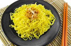 Egg noodles Royalty Free Stock Photos