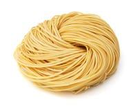 Egg noodles stock image