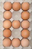 Egg number eight Royalty Free Stock Photos