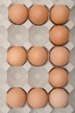 Egg number three Stock Photos