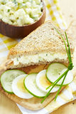 Egg o sanduíche da salada Imagens de Stock Royalty Free