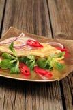 Egg omelet Stock Photo