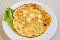 Egg omelet breakfast Stock Photography
