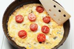 Egg omelet Royalty Free Stock Photo
