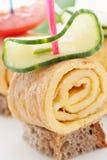 Egg Omelet Skewer Royalty Free Stock Images