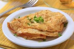Egg Omelette Lizenzfreie Stockfotos