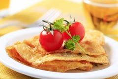 Egg Omelette Stockfotografie