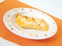 Egg omelette Royalty Free Stock Images