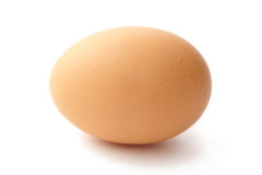Egg On White Royalty Free Stock Photography