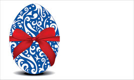 Egg with ornaments Royalty Free Stock Photo