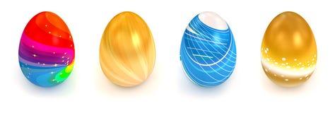 Egg over white background Royalty Free Stock Photos