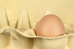 Egg in the package Royalty Free Stock Photo