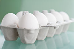 Egg in packing Royalty Free Stock Image
