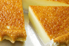 Egg pie Stock Images