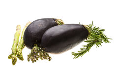 Egg-plant Royalty Free Stock Photo