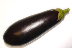 Egg plant. Isolated egg plant Royalty Free Stock Image