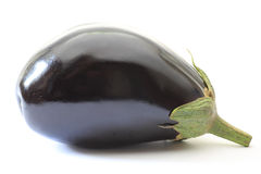 Egg plant in a white background Royalty Free Stock Photo