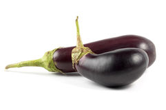 Egg-plants Royalty Free Stock Images