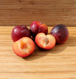 Egg plums Royalty Free Stock Photos