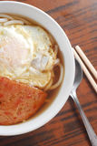 Egg pork noodle Royalty Free Stock Photo