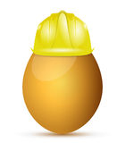 Egg protection concept illustration design Stock Image
