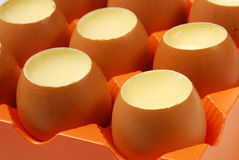 Egg Pudding Royalty Free Stock Image