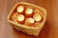 Egg Pudding Stock Image