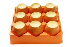 Egg Pudding Stock Photo