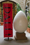 The egg representative of Dali Royalty Free Stock Images