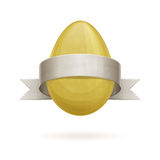 Egg With Ribbon Royalty Free Stock Image