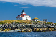 Egg Rock Lighthouse Royalty Free Stock Photos