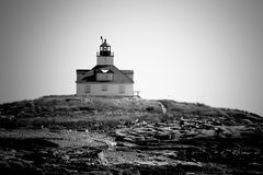 Egg Rock Lighthouse Royalty Free Stock Images