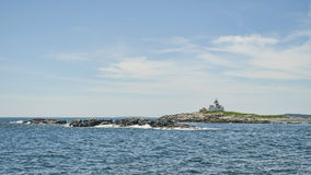 Egg Rock Lighthouse Stock Images