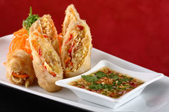 Egg roll Royalty Free Stock Image