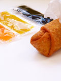 Egg roll. Royalty Free Stock Photography