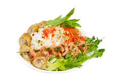Egg roll Noodle Stock Photos