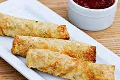 Egg Rolls Royalty Free Stock Images