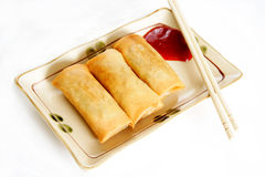 Egg rolls Stock Photography