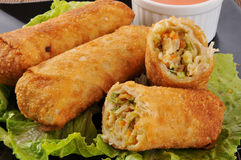 Free Egg Rolls Royalty Free Stock Images - 21657119