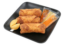 Egg Rolls & Fortune Cookies Path Stock Images