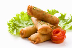 Egg Rolls - Spring Rolls Royalty Free Stock Images